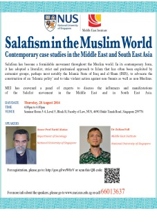 Salafism in the Muslim World - 28 Aug